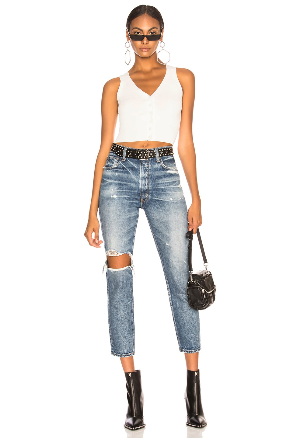 MOUSSY VINTAGE Cottons MOUSSY VINTAGE MARSHALL BOY SKINNY IN BLUE