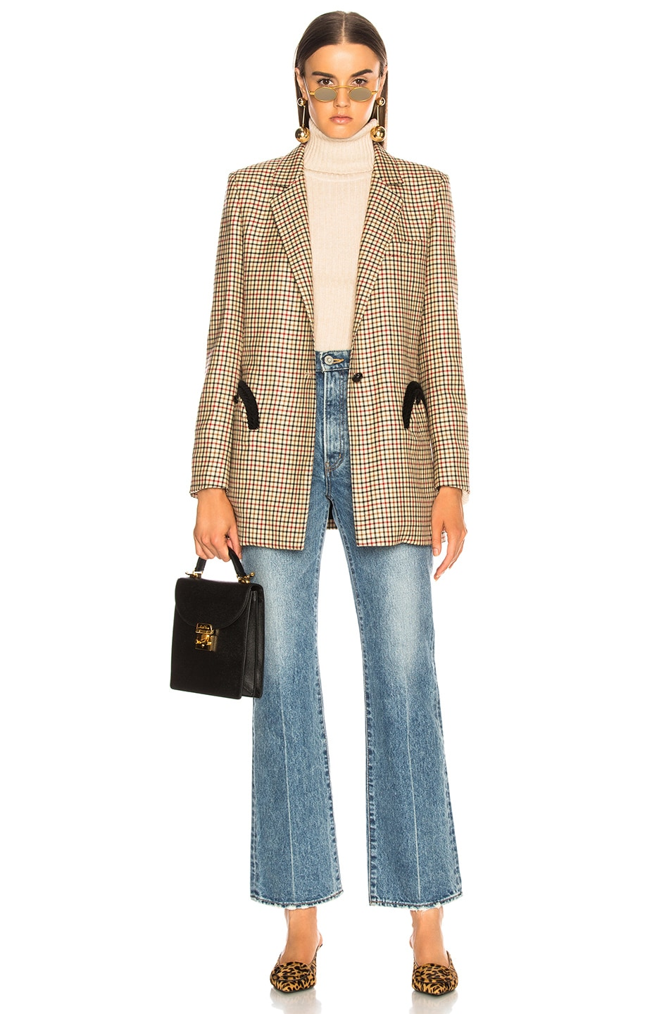 Image 4 of Moussy Vintage Luna Straight Flare in Blue