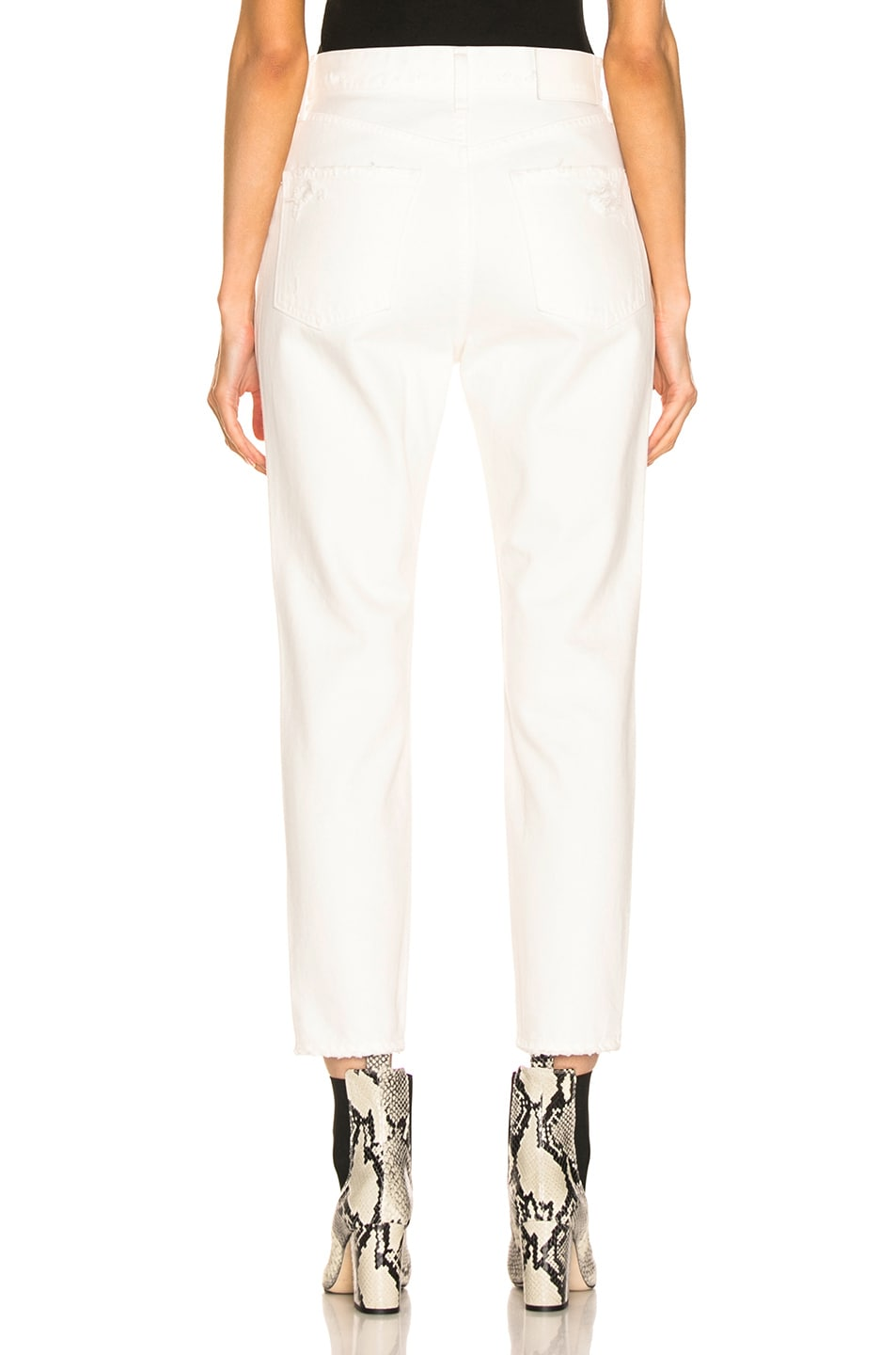 Image 3 of Moussy Vintage Bishop Boy Skinny in White