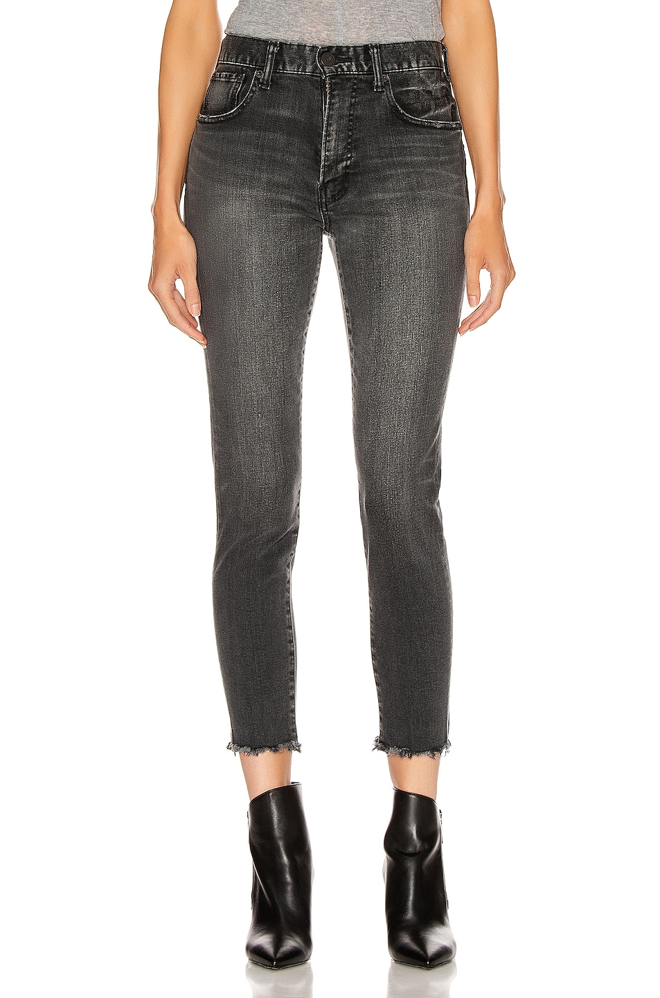 Image 1 of Moussy Vintage Westcliffe Skinny in Light Black
