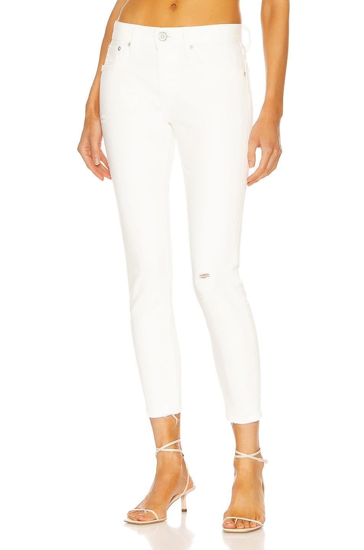 Image 1 of Moussy Vintage Velma Skinny in White
