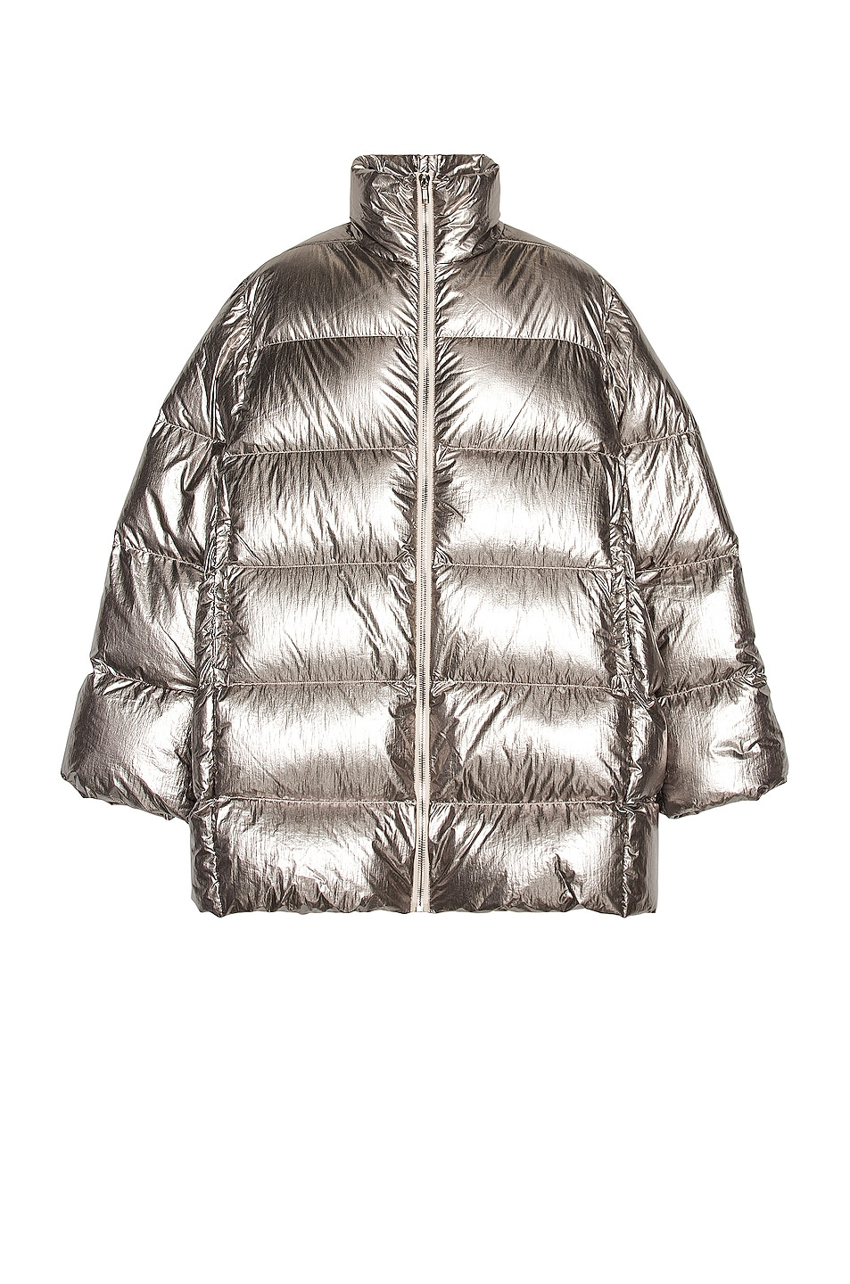 Image 1 of Moncler + Rick Owens Cyclopic Jacket in Silver