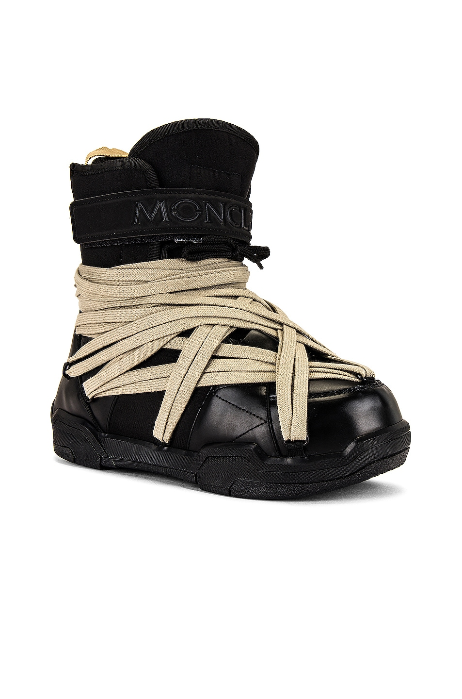 Image 1 of Moncler + Rick Owens Amber Boot in Black