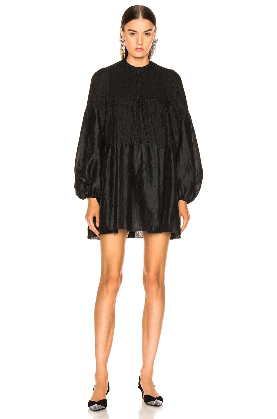 Image 2 of Marques ' Almeida Short Dress in Black