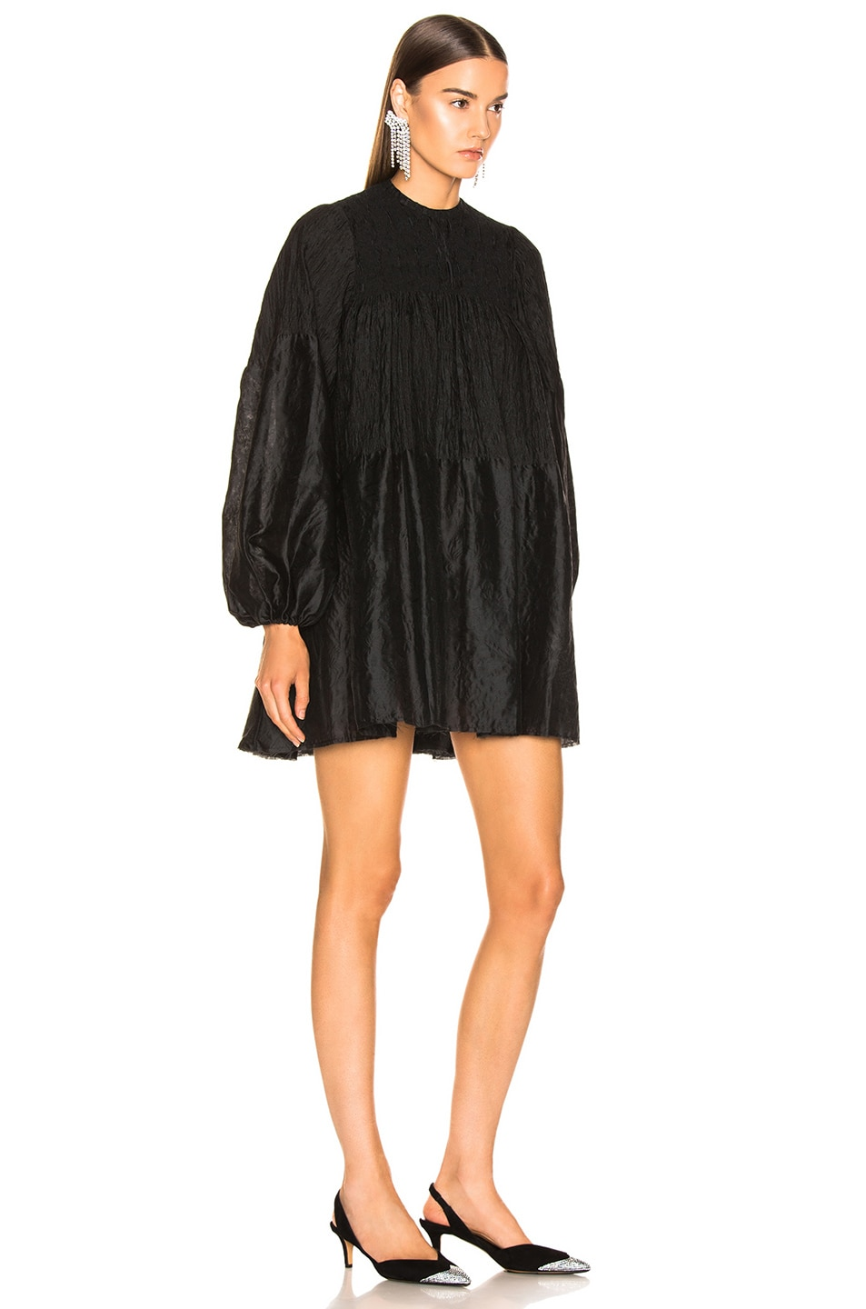 Image 3 of Marques ' Almeida Short Dress in Black
