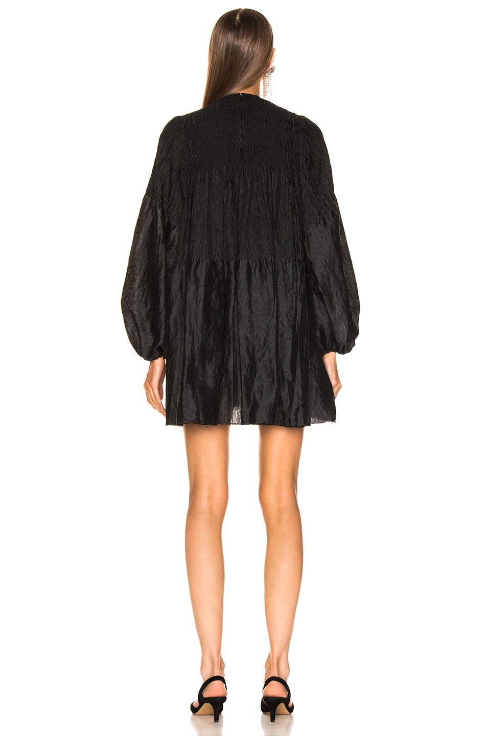 Image 4 of Marques ' Almeida Short Dress in Black