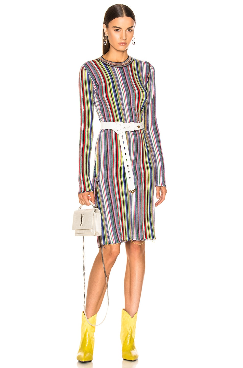 Image 1 of Marques ' Almeida Long Dress in Multi