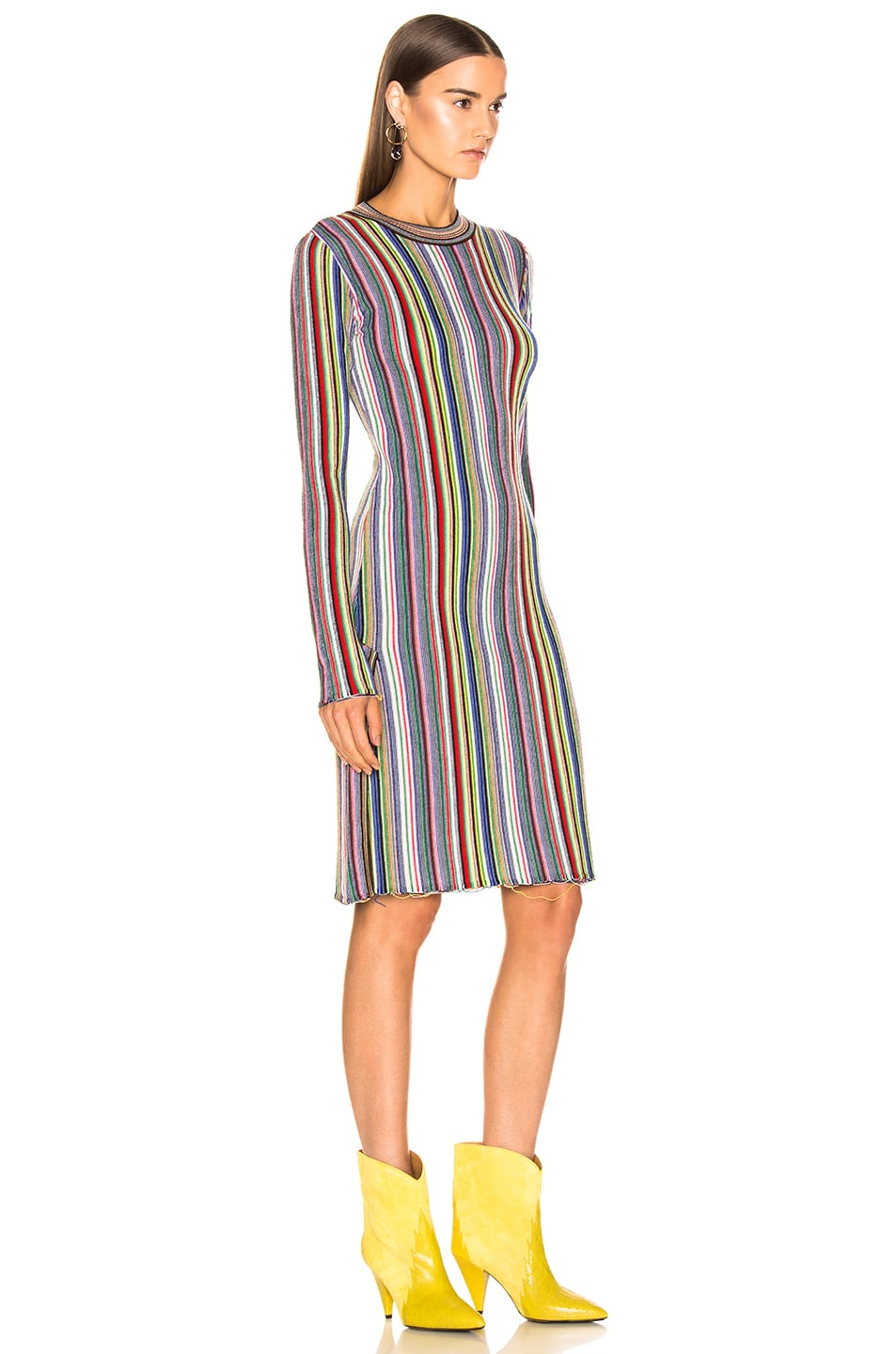 Image 2 of Marques ' Almeida Long Dress in Multi