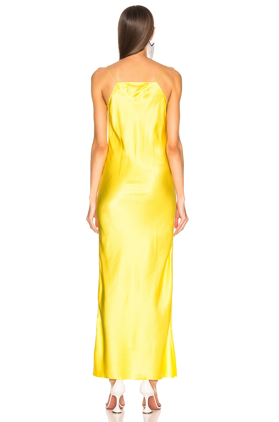 Image 3 of Marques ' Almeida Bias Tube Dress in Yellow