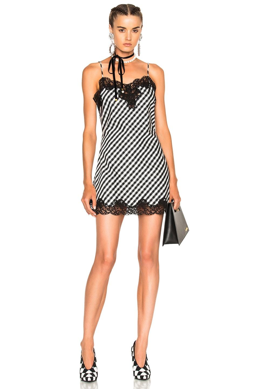 Image 1 of Marques ' Almeida Slip Dress in Black & White