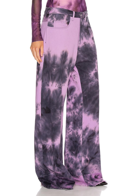 Image 2 of Marques ' Almeida Boyfriend Jeans in Purple Tie Dye