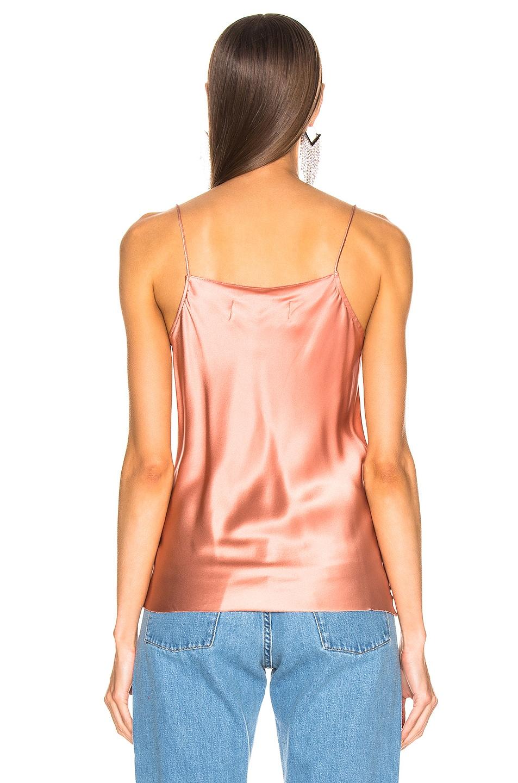 Image 4 of Marques ' Almeida Bias Slip Top in Pink