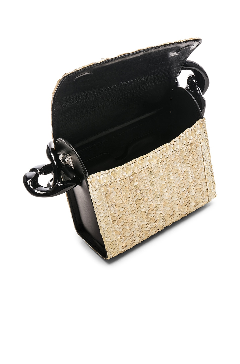 Image 5 of Marques ' Almeida Chain Bag in Straw