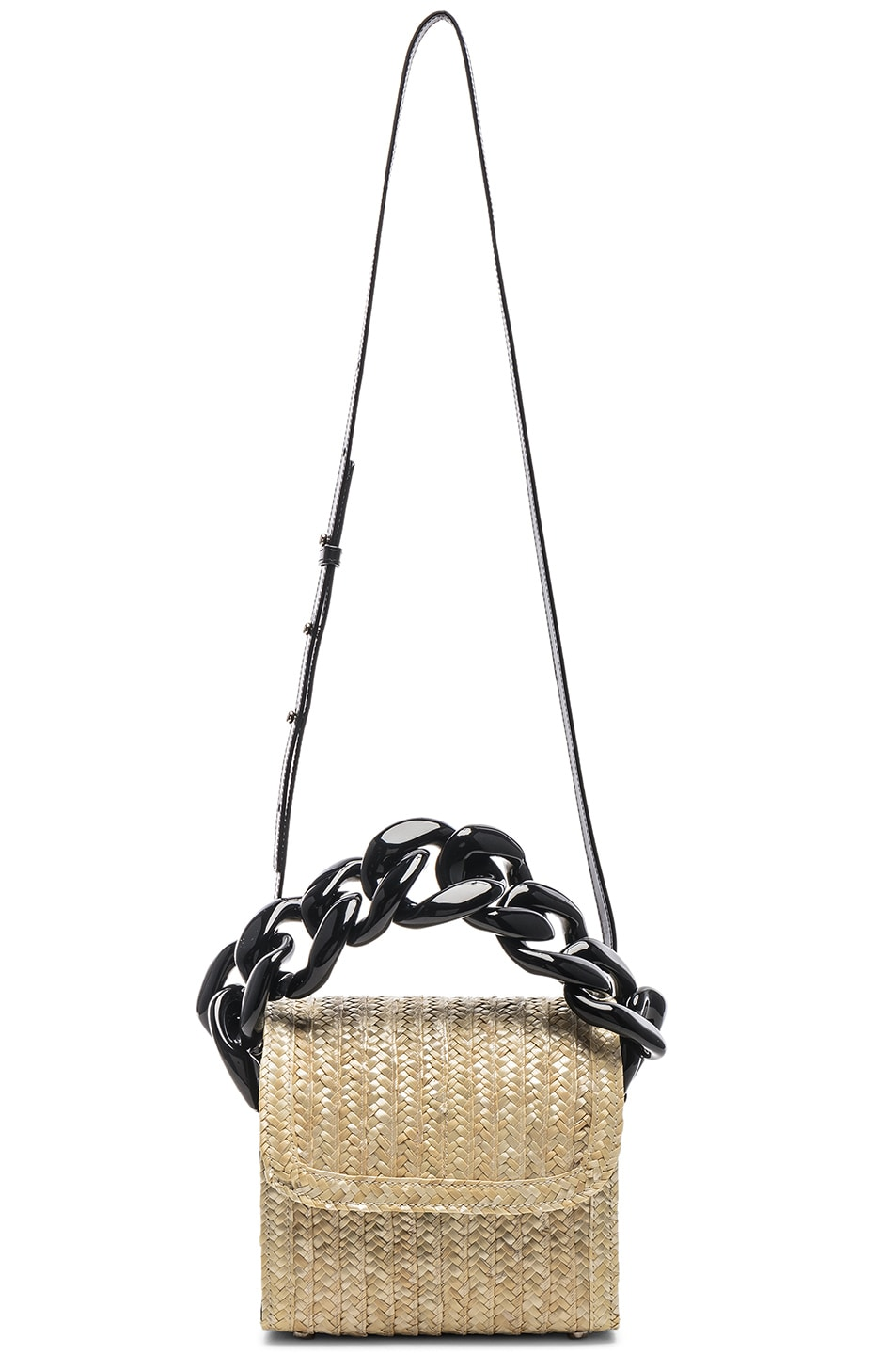 Image 6 of Marques ' Almeida Chain Bag in Straw