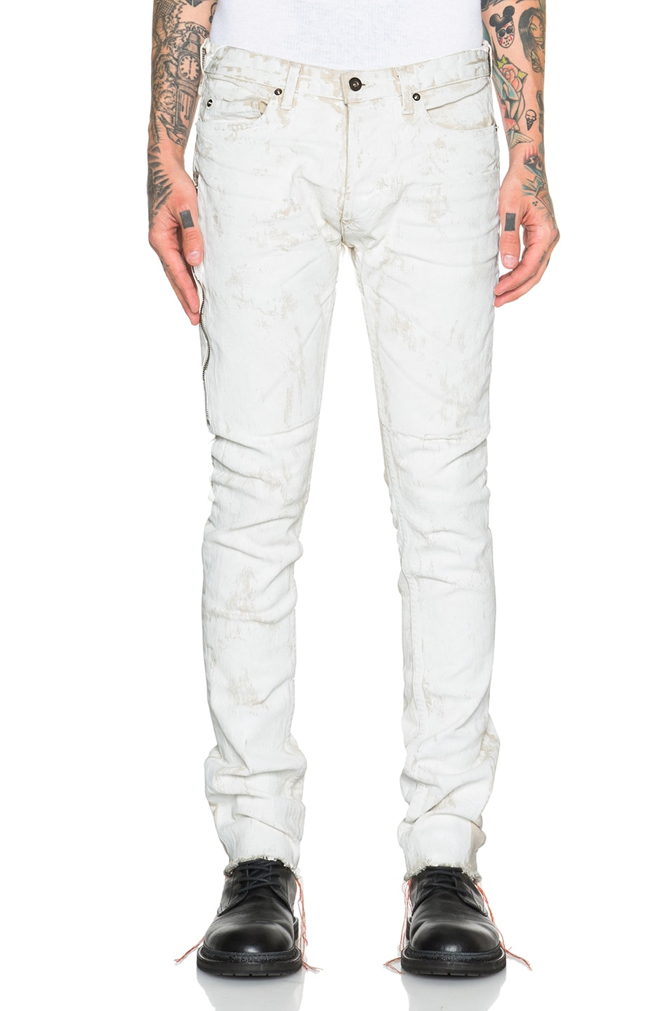 Image 1 of Mr. Completely White Jeans in White Clay in White