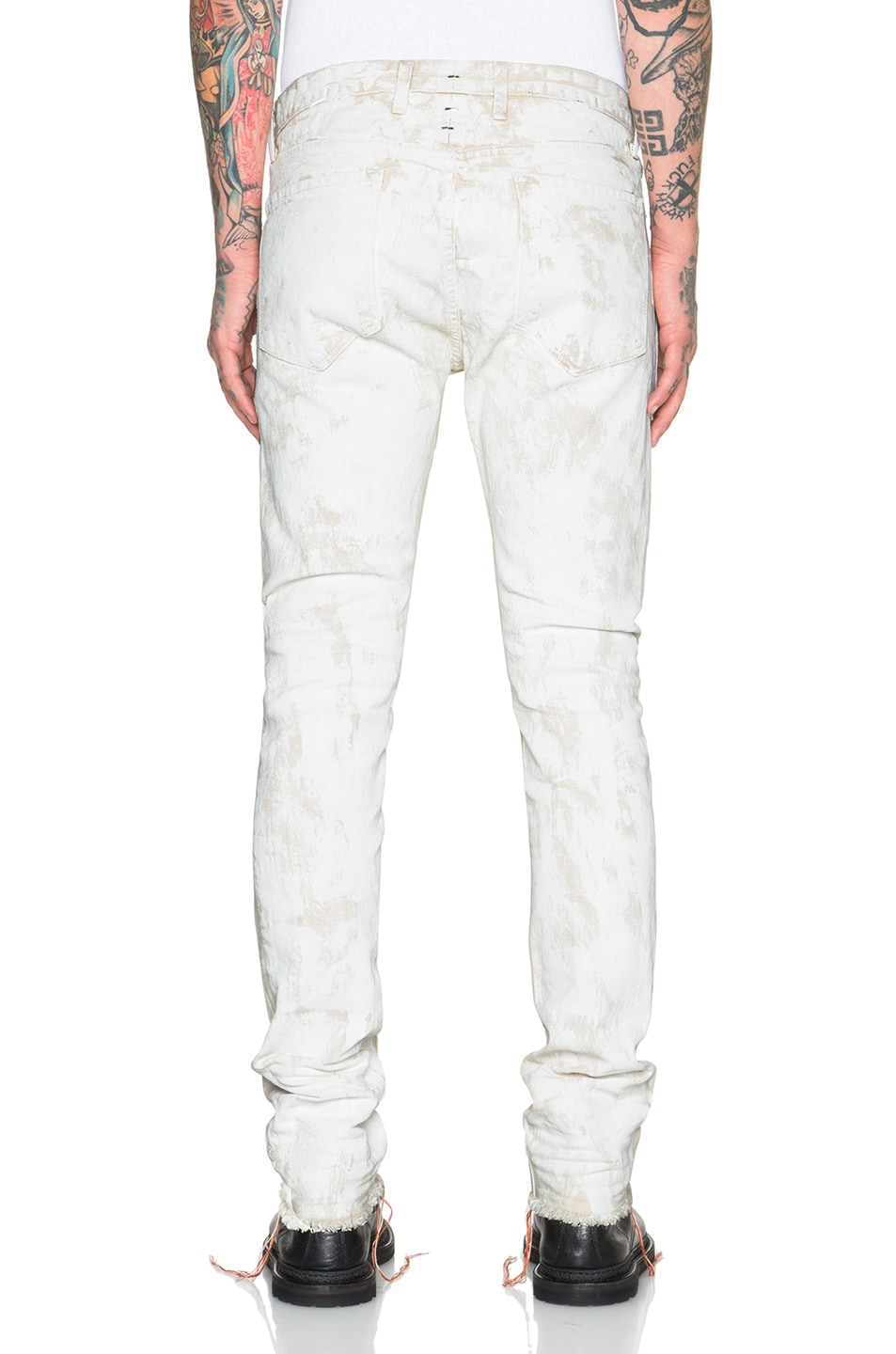 Image 4 of Mr. Completely White Jeans in White Clay in White
