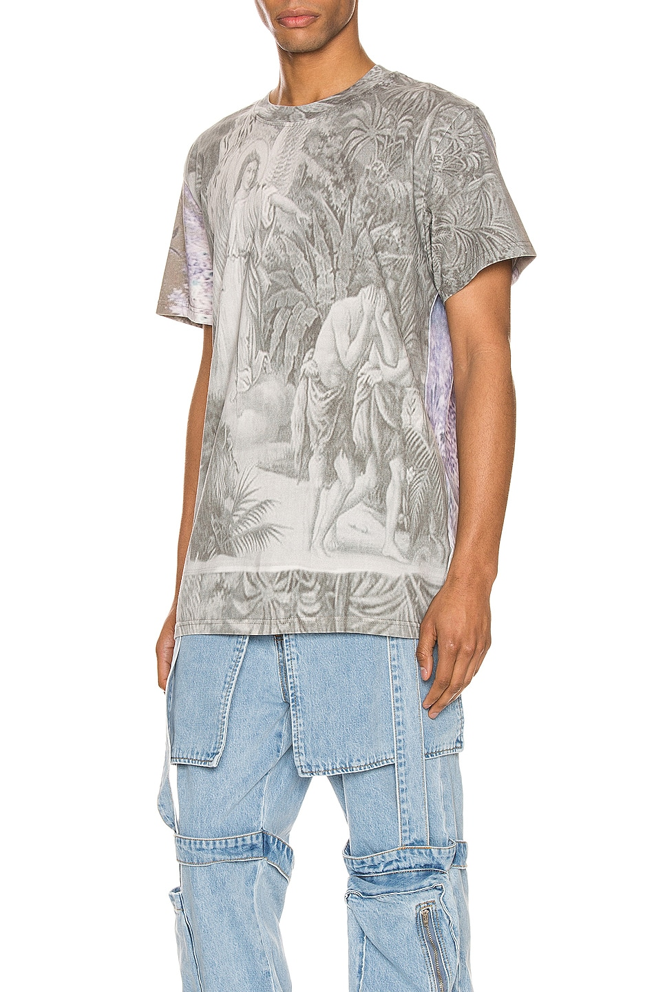 Image 3 of Who Decides War by Ev Bravado Out Of Eden Tee in Multi
