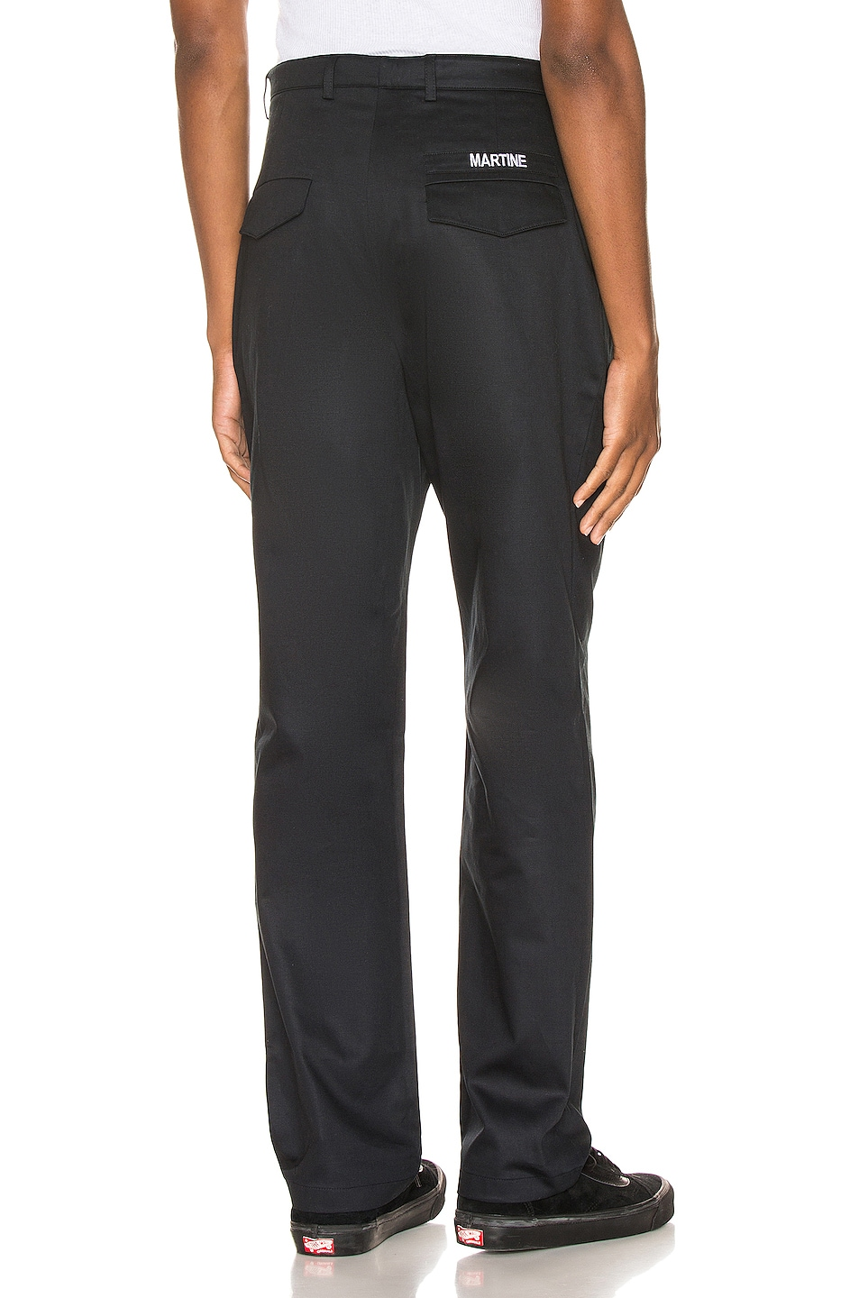 Image 1 of Martine Rose Cargo Pocket Trousers in Black