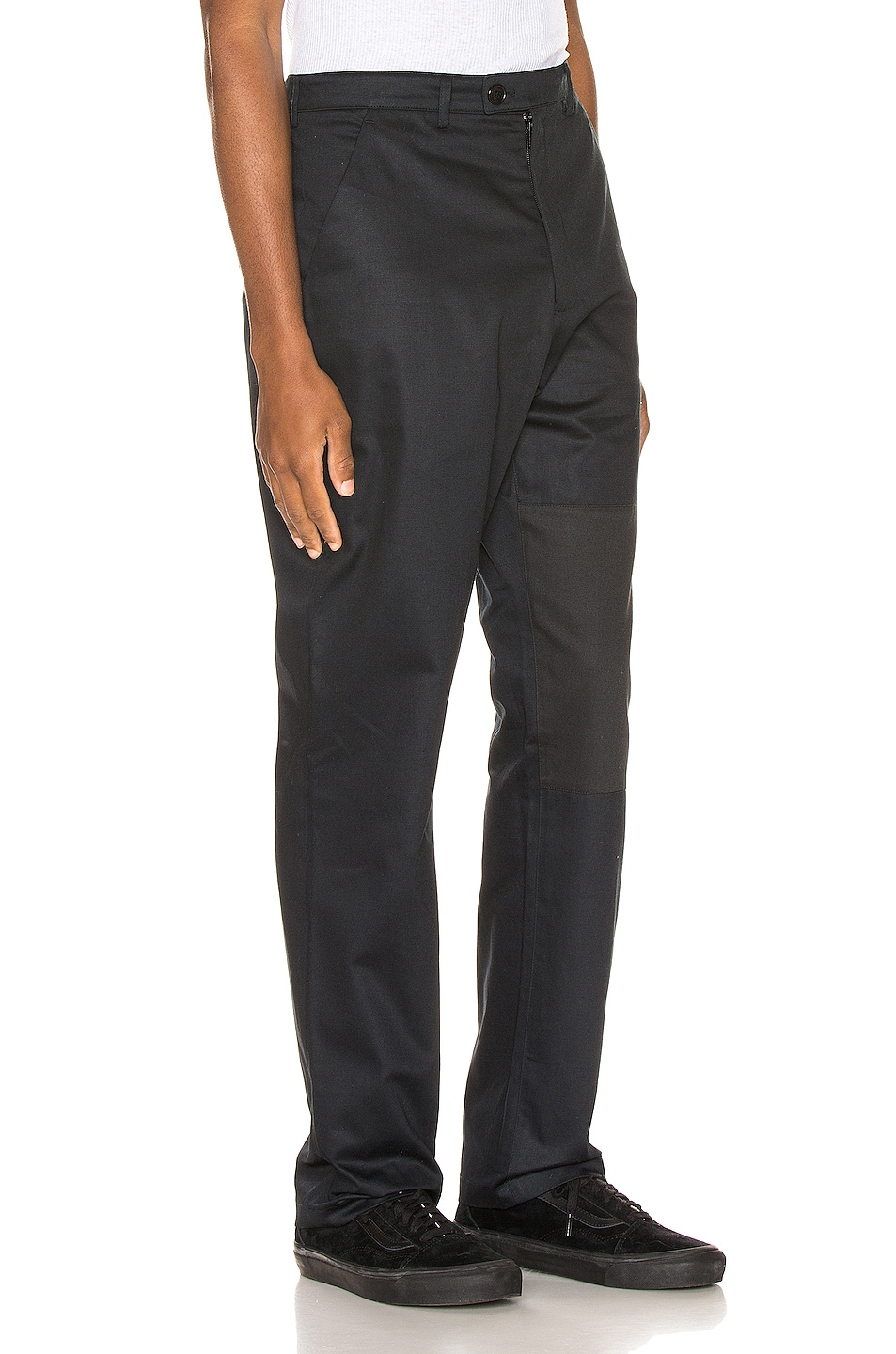 Image 3 of Martine Rose Cargo Pocket Trousers in Black