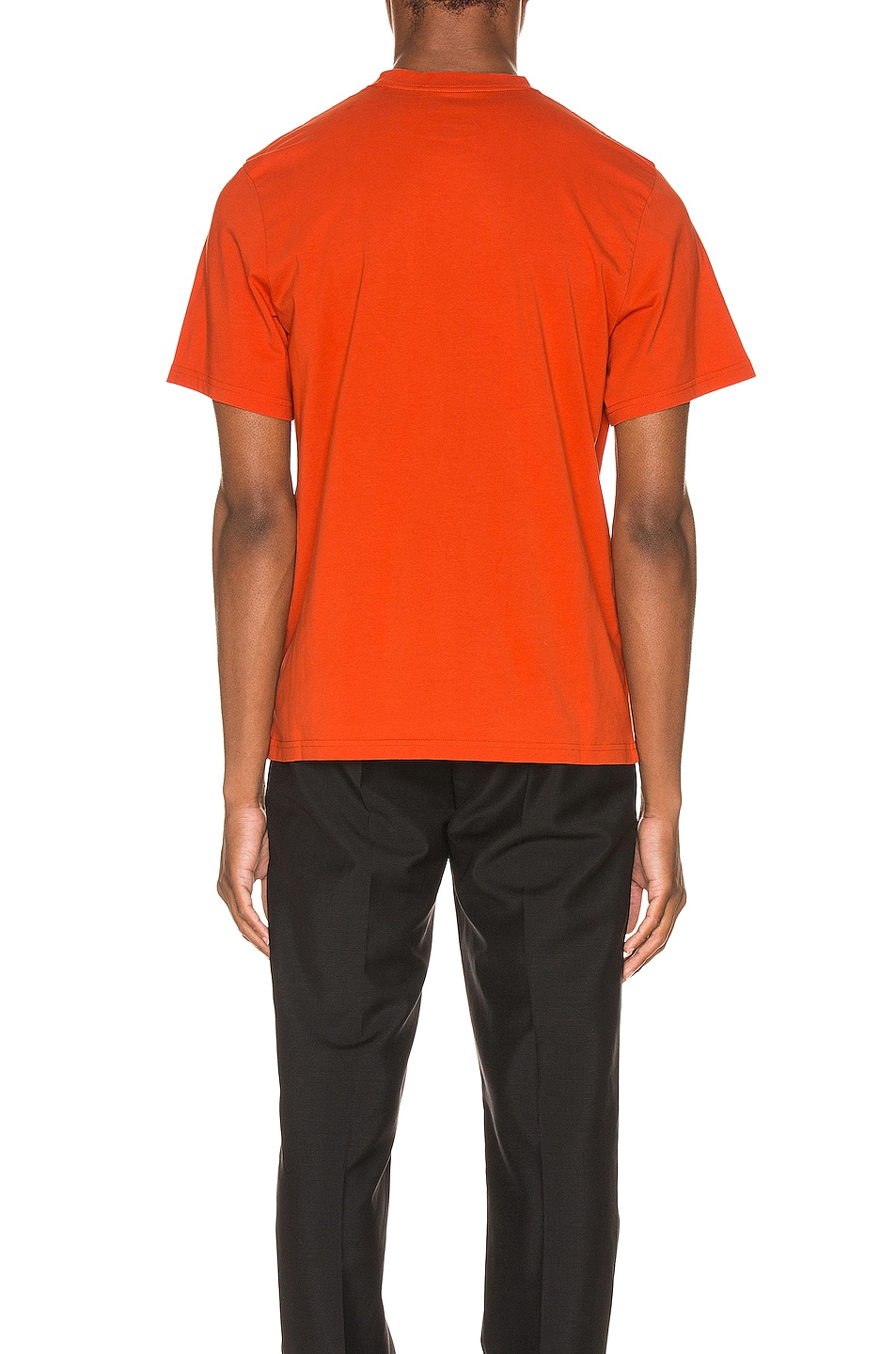 Image 3 of Martine Rose Logo Tee in Orange
