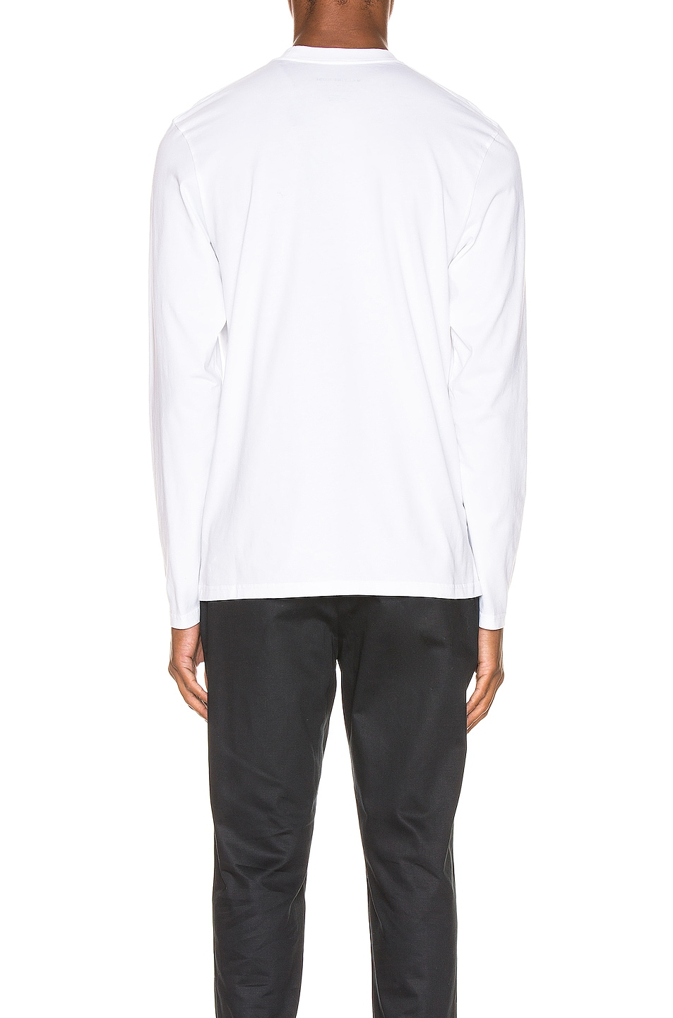 Image 3 of Martine Rose Long Sleeve Tee in White