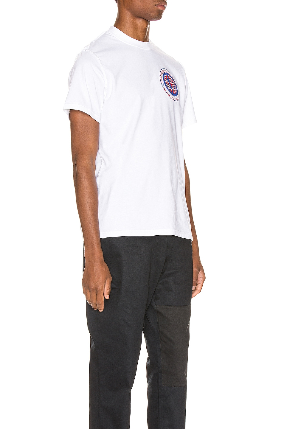 Image 2 of Martine Rose Inverted Tee in White