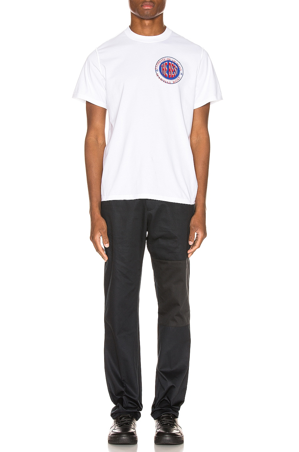 Image 4 of Martine Rose Inverted Tee in White
