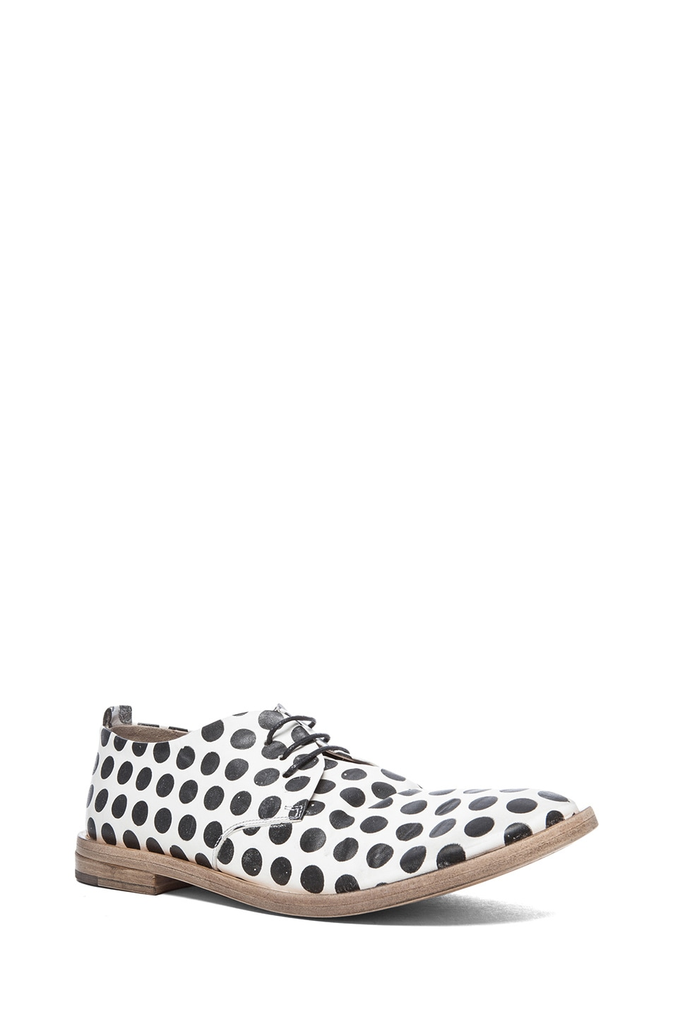 polka dot shoes - White Mars YRAIK