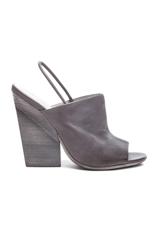 open toe chunky heel sandals - White Mars gLZBE1zvos