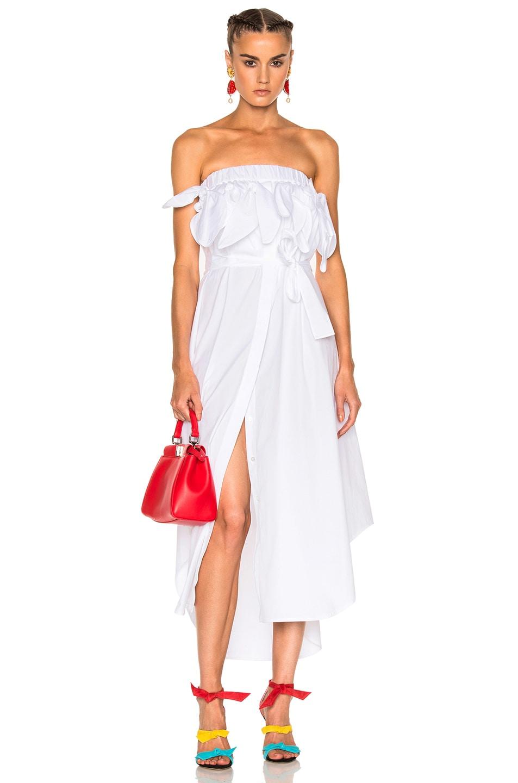Cotton dress Msgm F4CRaYD87