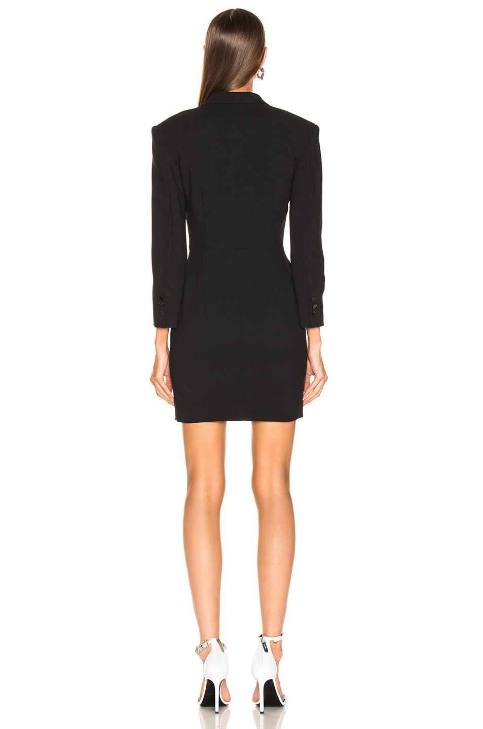 Image 3 of MSGM Enverse Satin Dress in Black