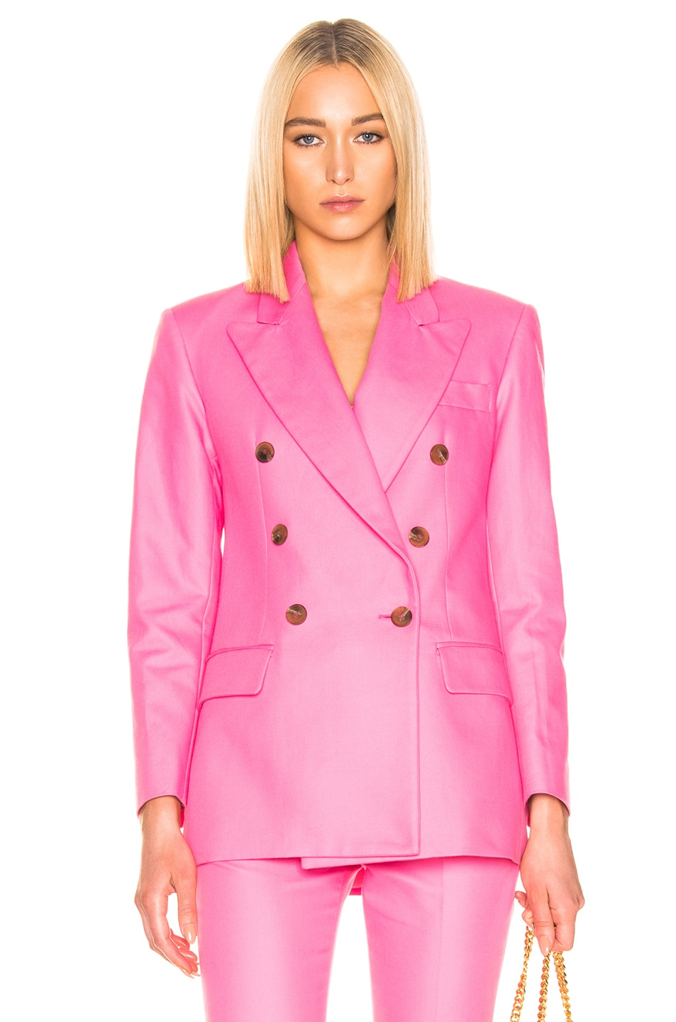 Image 1 of MSGM Blazer Jacket in Pink