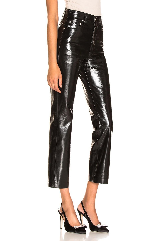 Image 2 of MSGM Patent Pant in Black