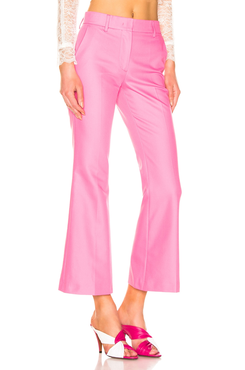 Image 2 of MSGM Tailored Crop Pant in Pink
