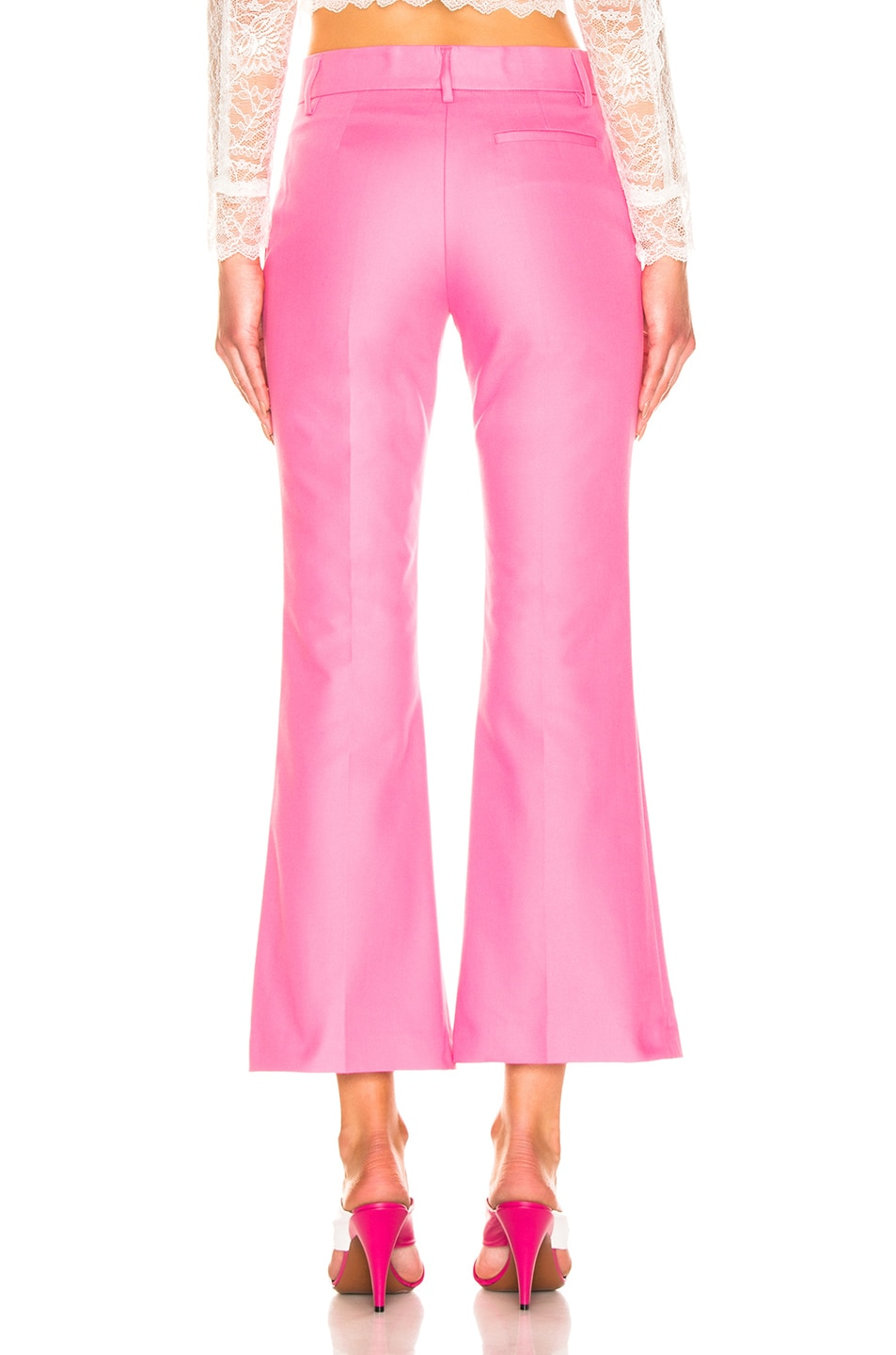 Image 3 of MSGM Tailored Crop Pant in Pink