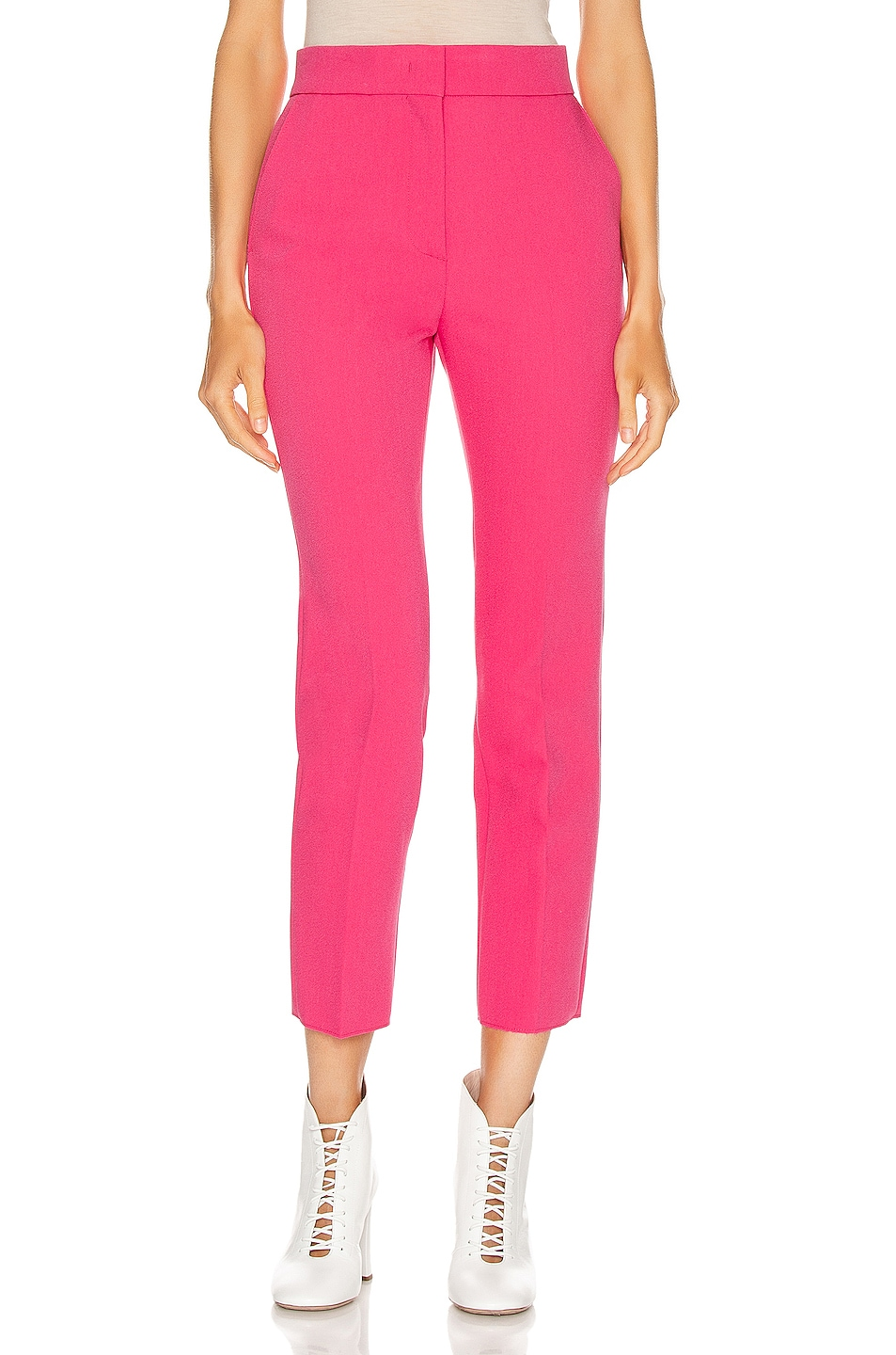 Image 1 of MSGM Tailored Pant in Fuchsia