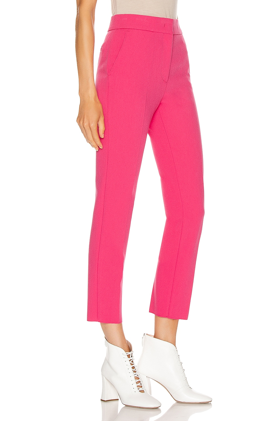 Image 2 of MSGM Tailored Pant in Fuchsia