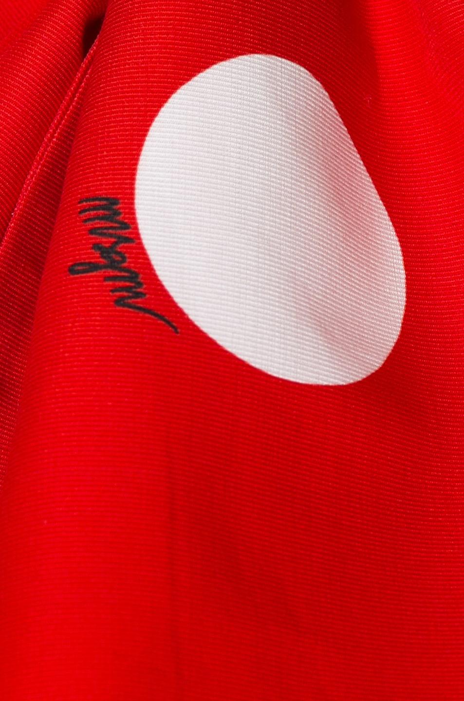 Image 6 of MSGM Macro Polka Dot Printed Top in Red & White