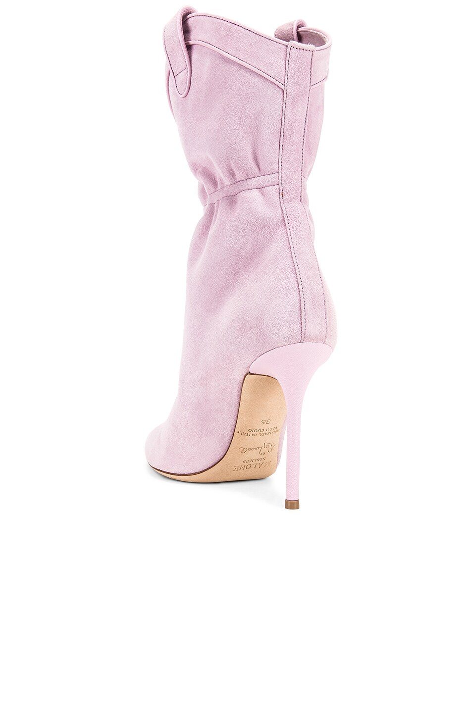 Image 3 of Malone Souliers Daisy Boot in Dusty Pink