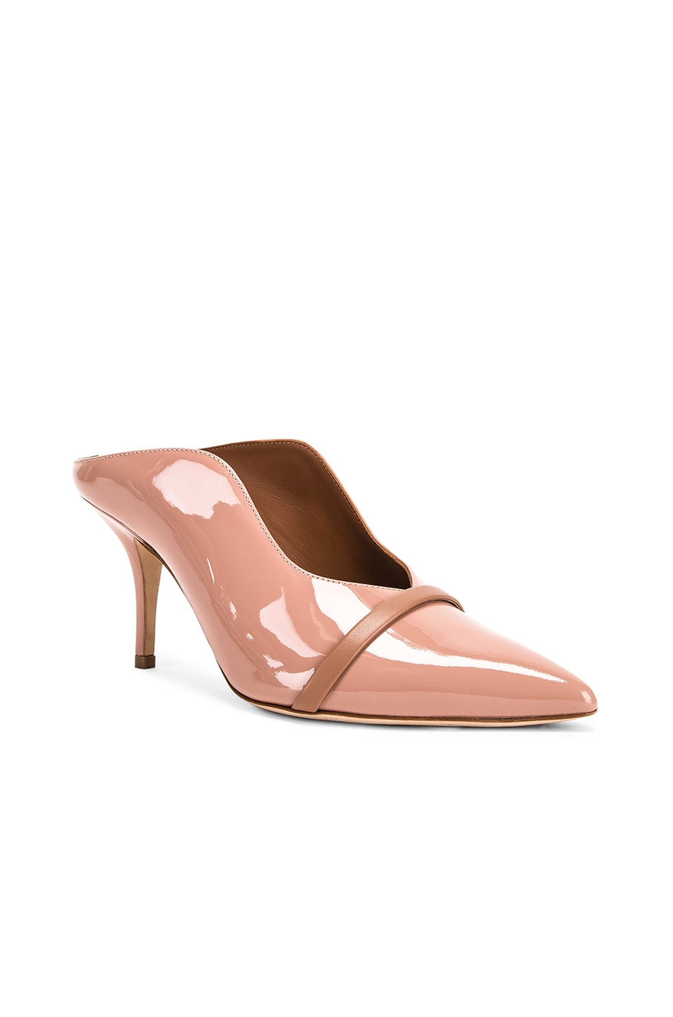 Image 2 of Malone Souliers Constance MS 70 Heel in Nude