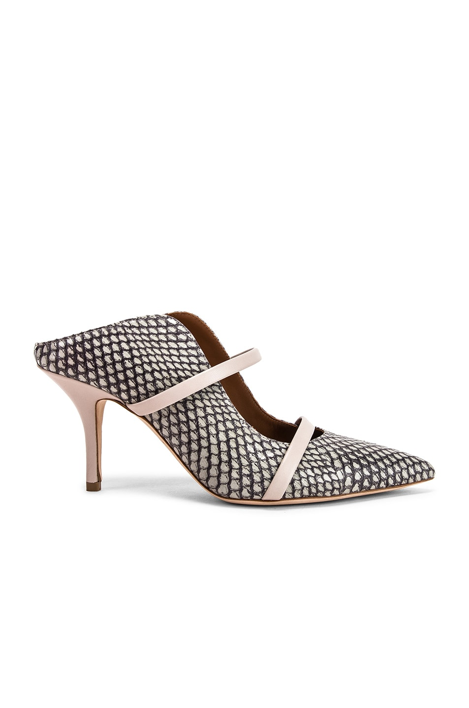 Image 1 of Malone Souliers Maureen MS 70 Heel in Peppermint & Grey