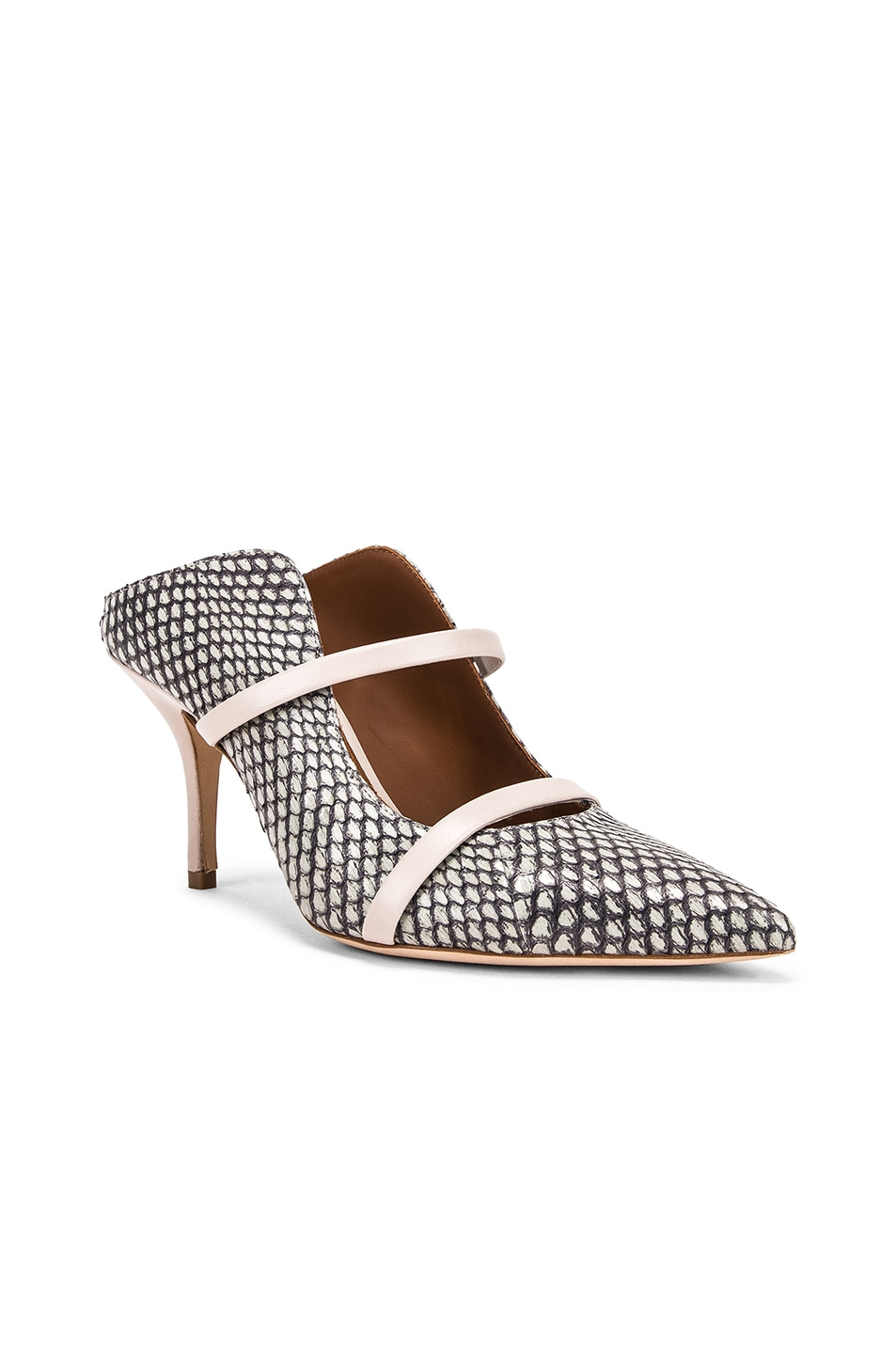 Image 2 of Malone Souliers Maureen MS 70 Heel in Peppermint & Grey