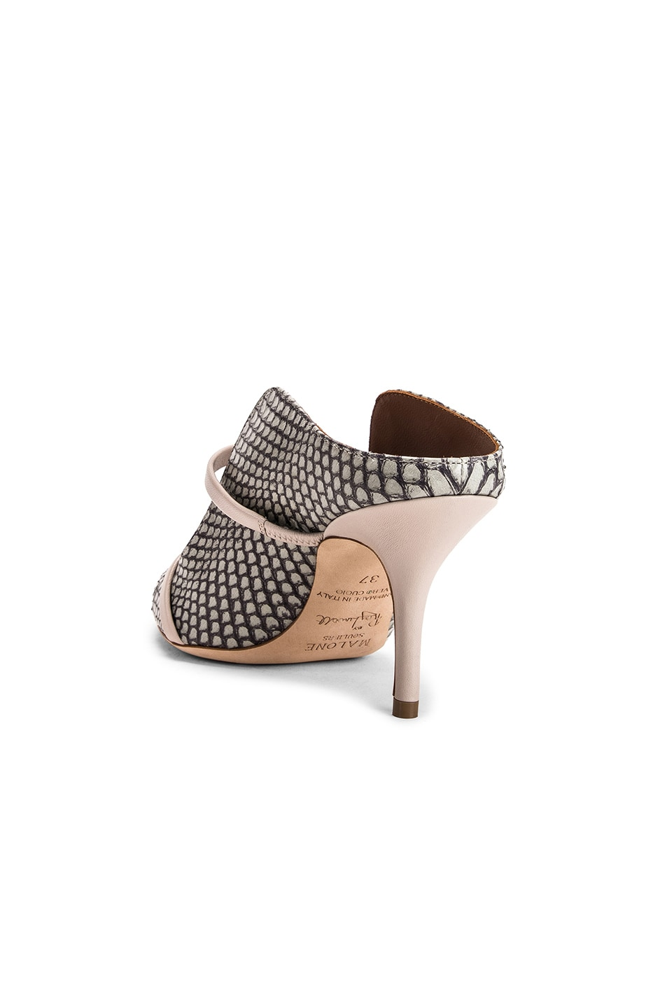 Image 3 of Malone Souliers Maureen MS 70 Heel in Peppermint & Grey
