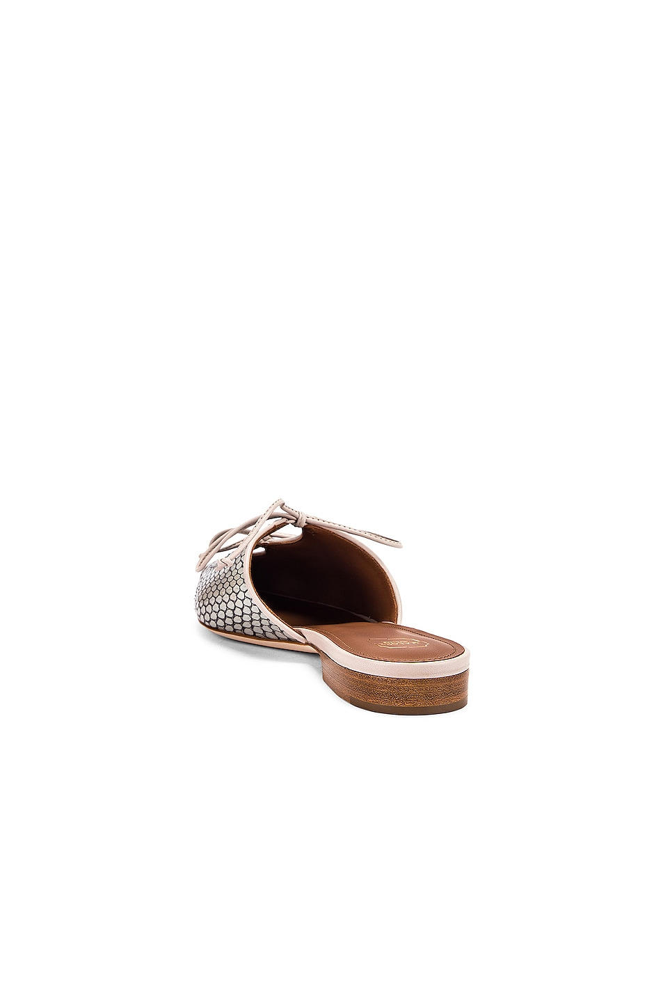 Image 3 of Malone Souliers Victoria MS Flat in Peppermint & Grey