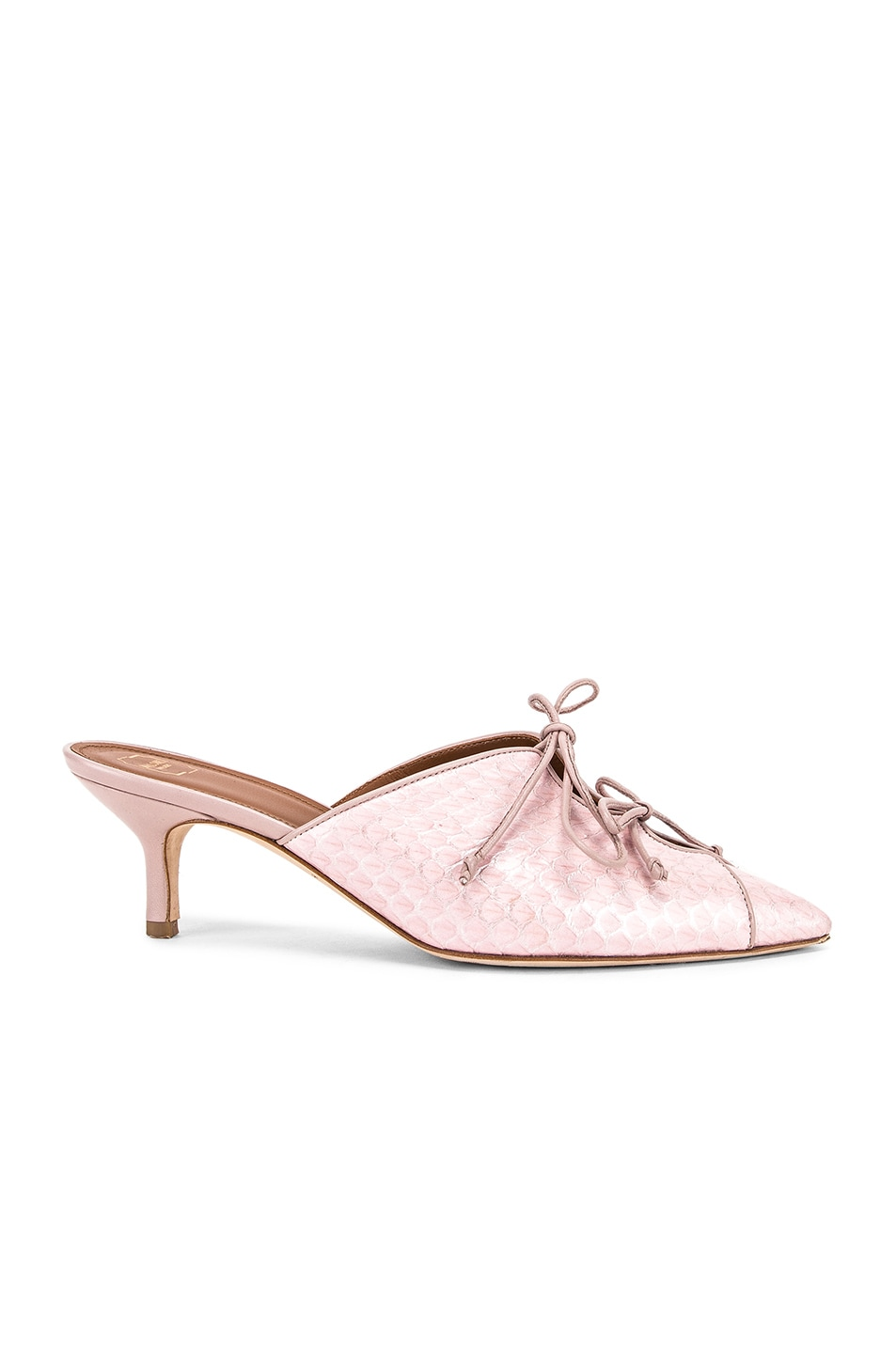 Image 1 of Malone Souliers Victoria MS 45 Heel in Pink & Dusty Pink