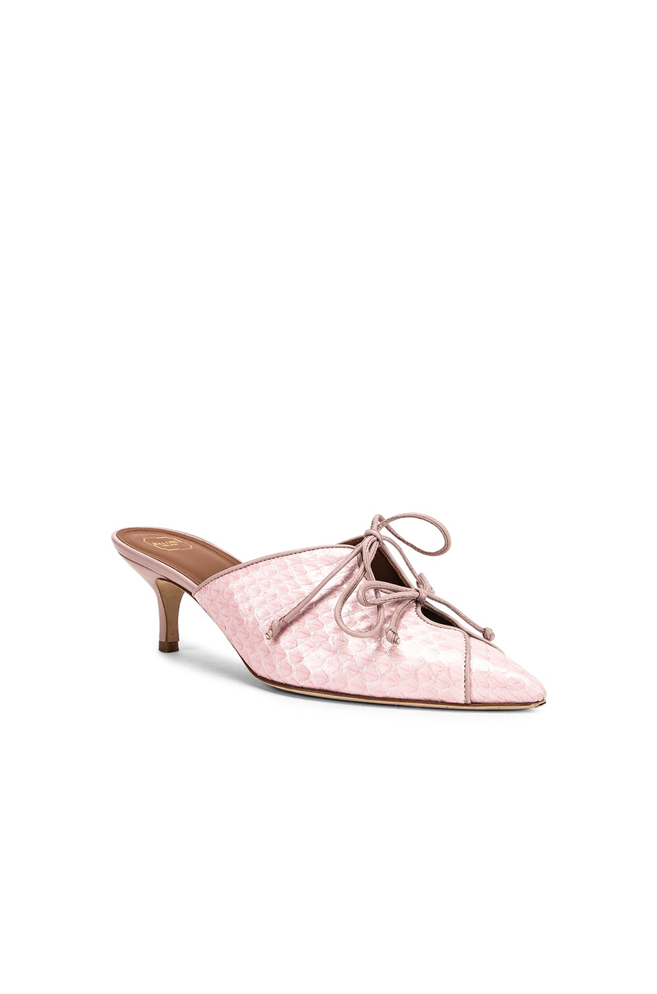 Image 2 of Malone Souliers Victoria MS 45 Heel in Pink & Dusty Pink