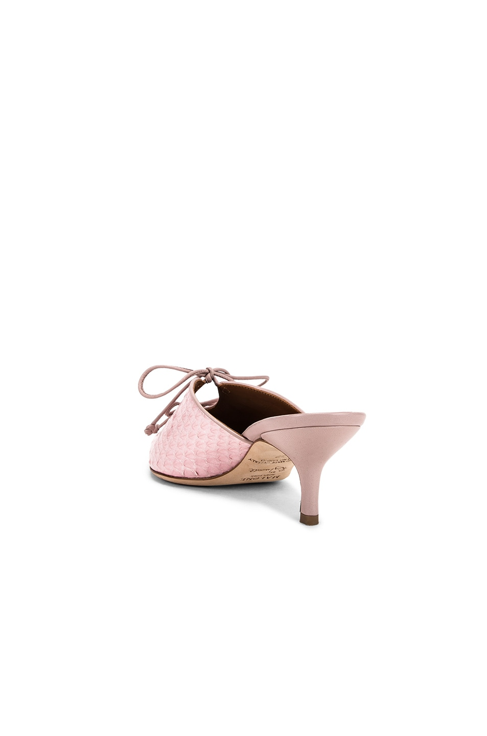 Image 3 of Malone Souliers Victoria MS 45 Heel in Pink & Dusty Pink