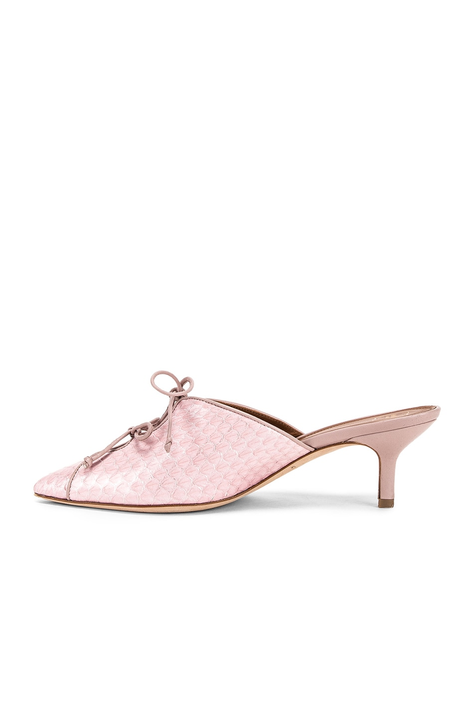 Image 5 of Malone Souliers Victoria MS 45 Heel in Pink & Dusty Pink