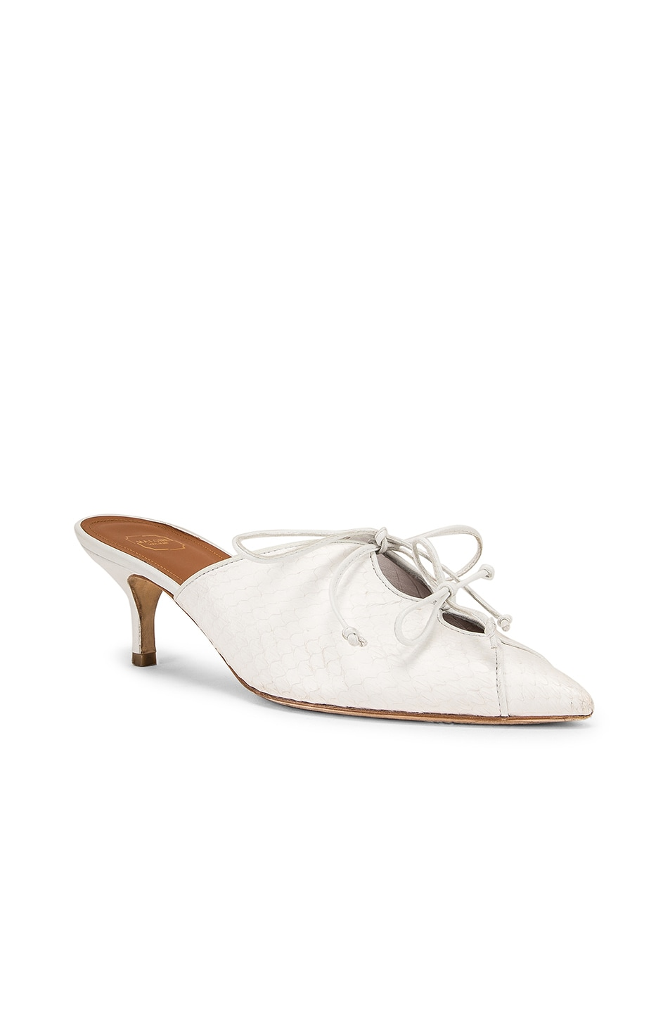 Image 2 of Malone Souliers Victoria MS 45 Heel in White
