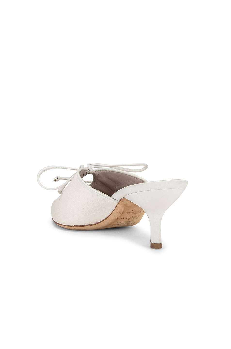 Image 3 of Malone Souliers Victoria MS 45 Heel in White